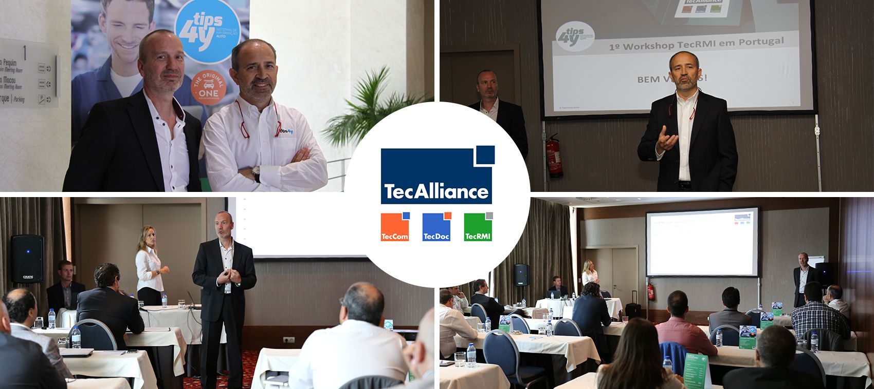 1º Workshop TecRMI em Portugal