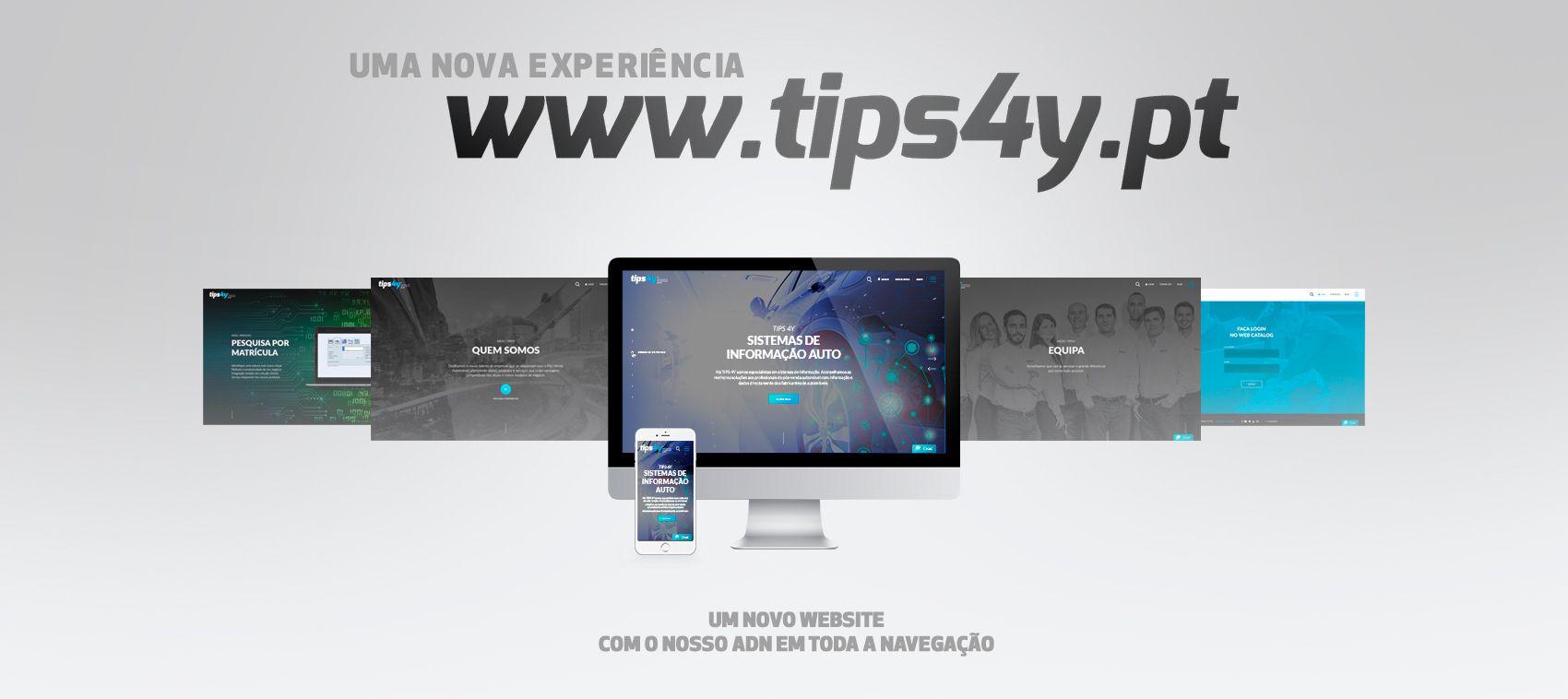 O ADN TIPS 4Y no novo website