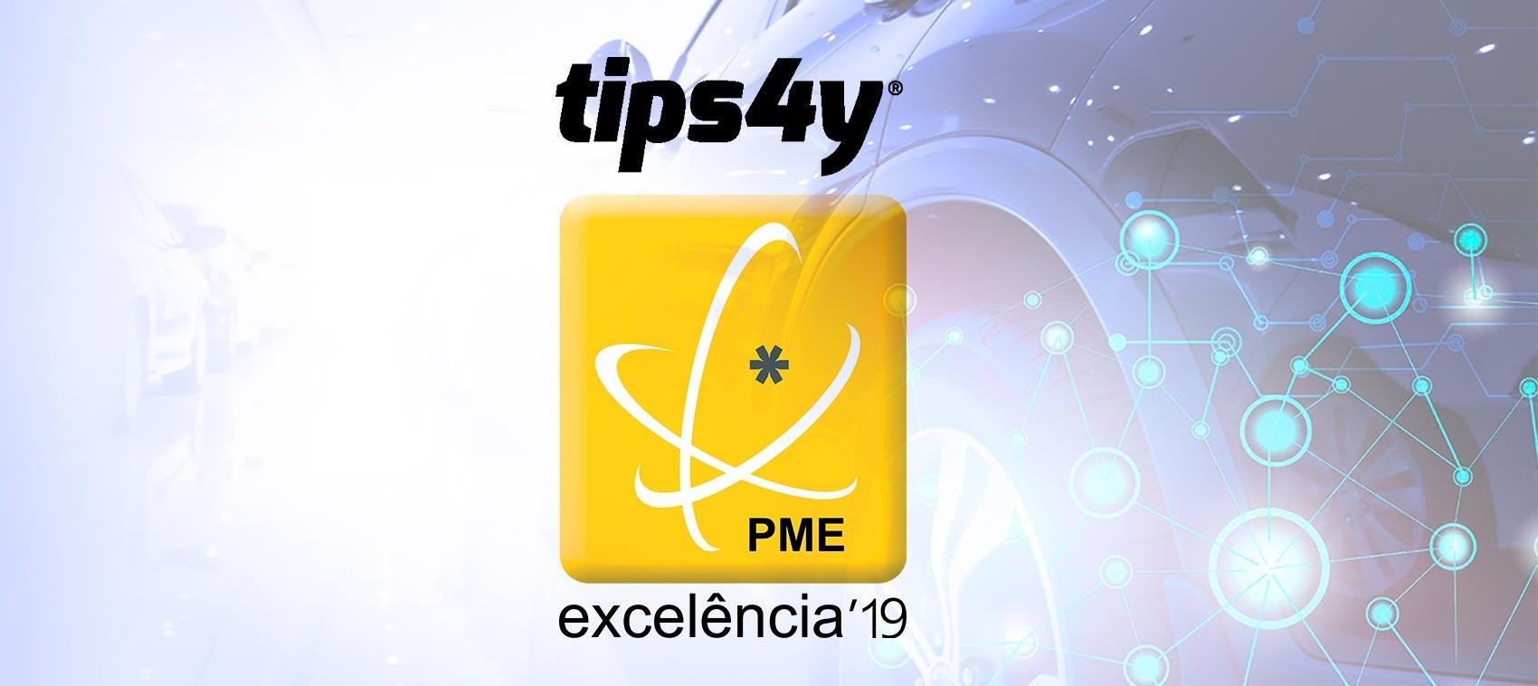 TIPS 4Y conquista estatuto de PME Excelência 2019