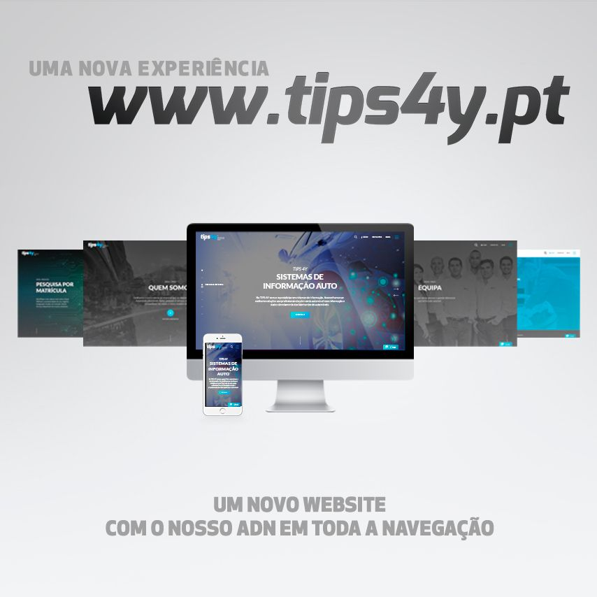 O ADN TIPS 4Y no novo website