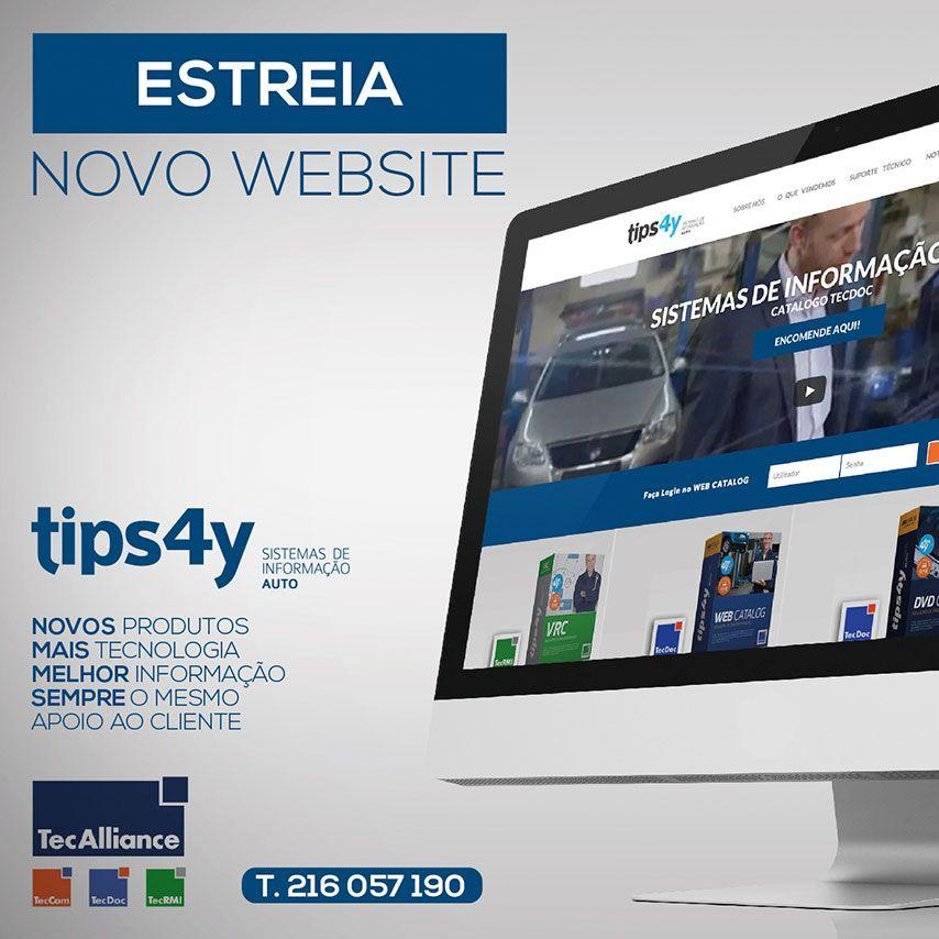 Lançamento Novo Website